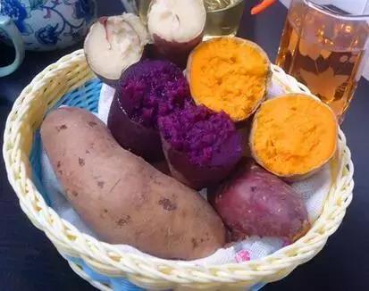 红薯、紫薯、白薯,谁营养更好?想要降压不发